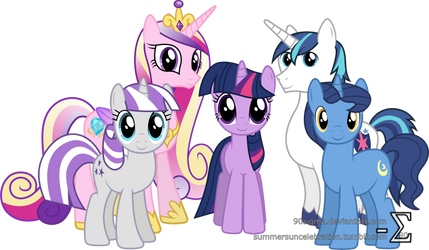 Sparkle Family Photo by 90Sigma
