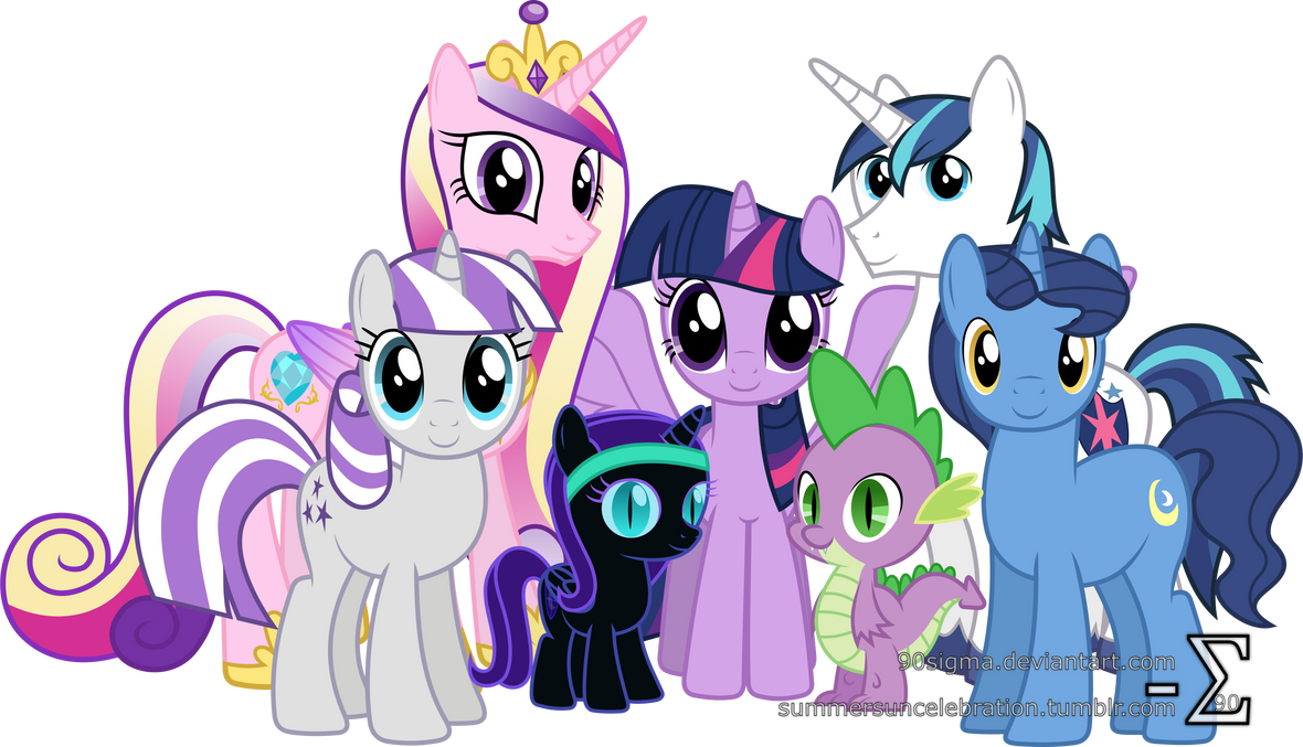 Sparkle Family Photo (Extended Version)