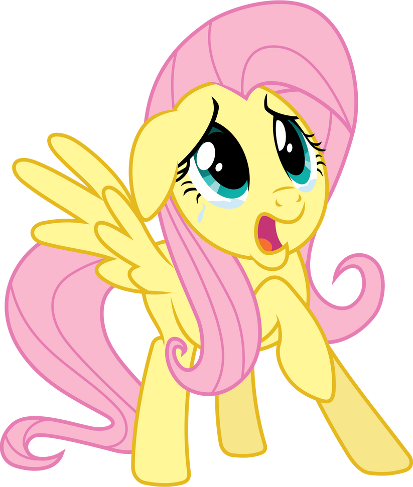 Scared Fluttershy by 90Sigma on DeviantArt