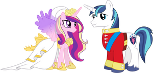 Princess Cadance and Shining Armour (2)
