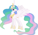Happy Princess Celestia