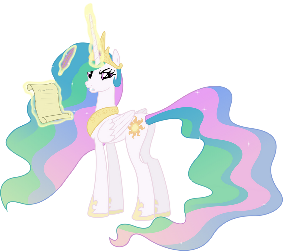 Angry Princess Celestia Angry Princess Celestia by