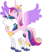 Cadance Atop Shining (Happy Version) by 90Sigma