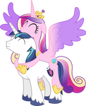 Cadance Atop Shining (Happy Version)