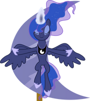 The Lunar Princess by 90Sigma