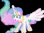 Startled Princess Celestia
