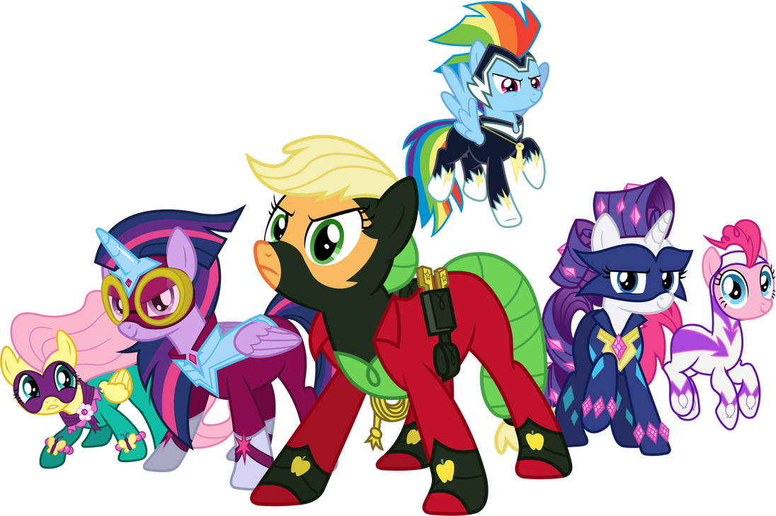 the power ponies by 90sigma on deviantart