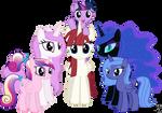 Alicorn Family Photo (Filly Version)