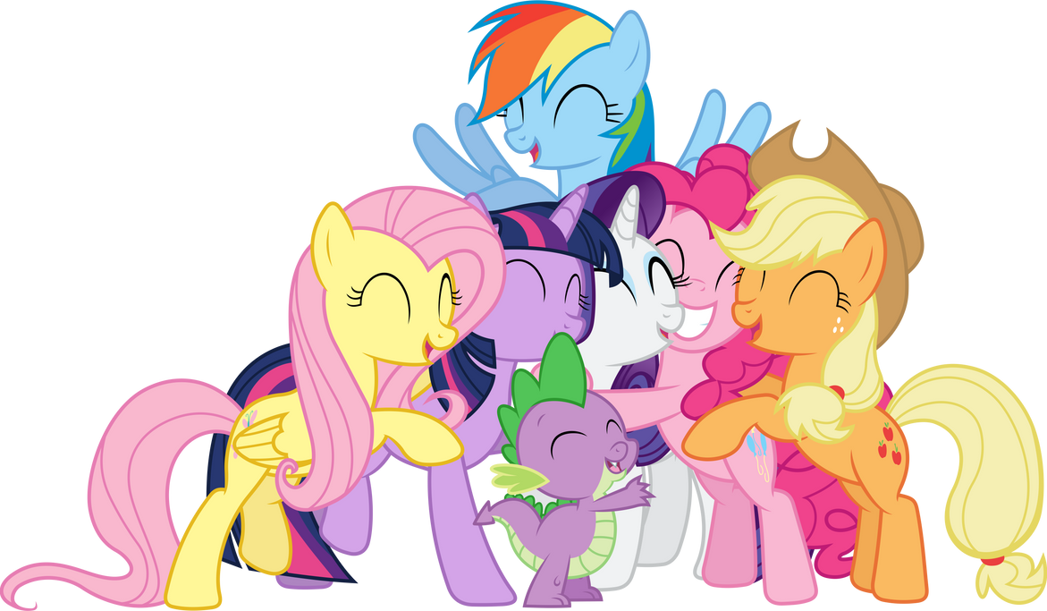 Friendship is Magic (1) by 90Sigma