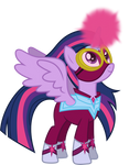 Twilight as the Masked Matterhorn