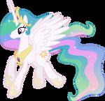 Princess Celestia Flying (3)