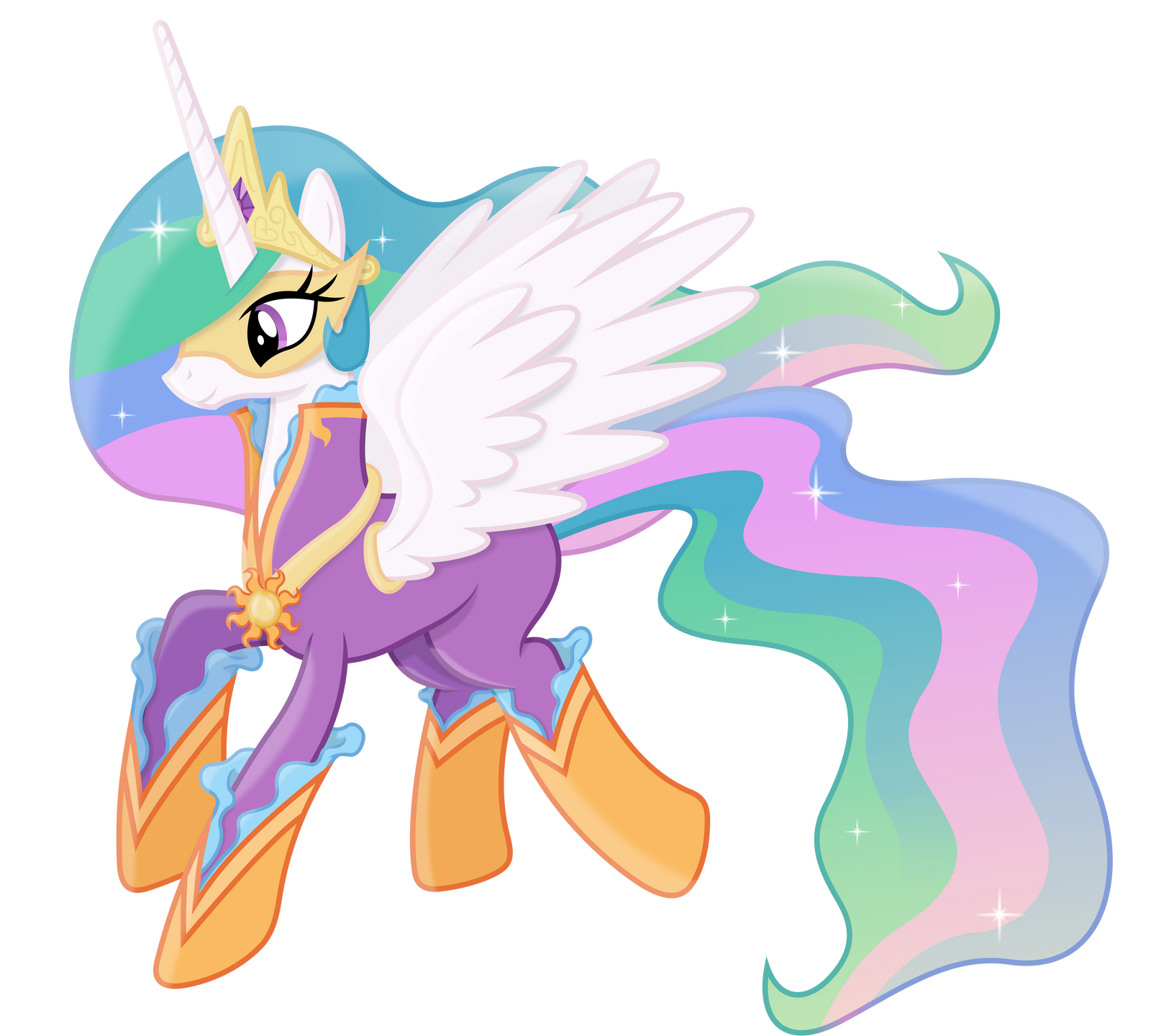 Princess celestia as a power pony by 90sigma on deviantart - Princesse poney ...