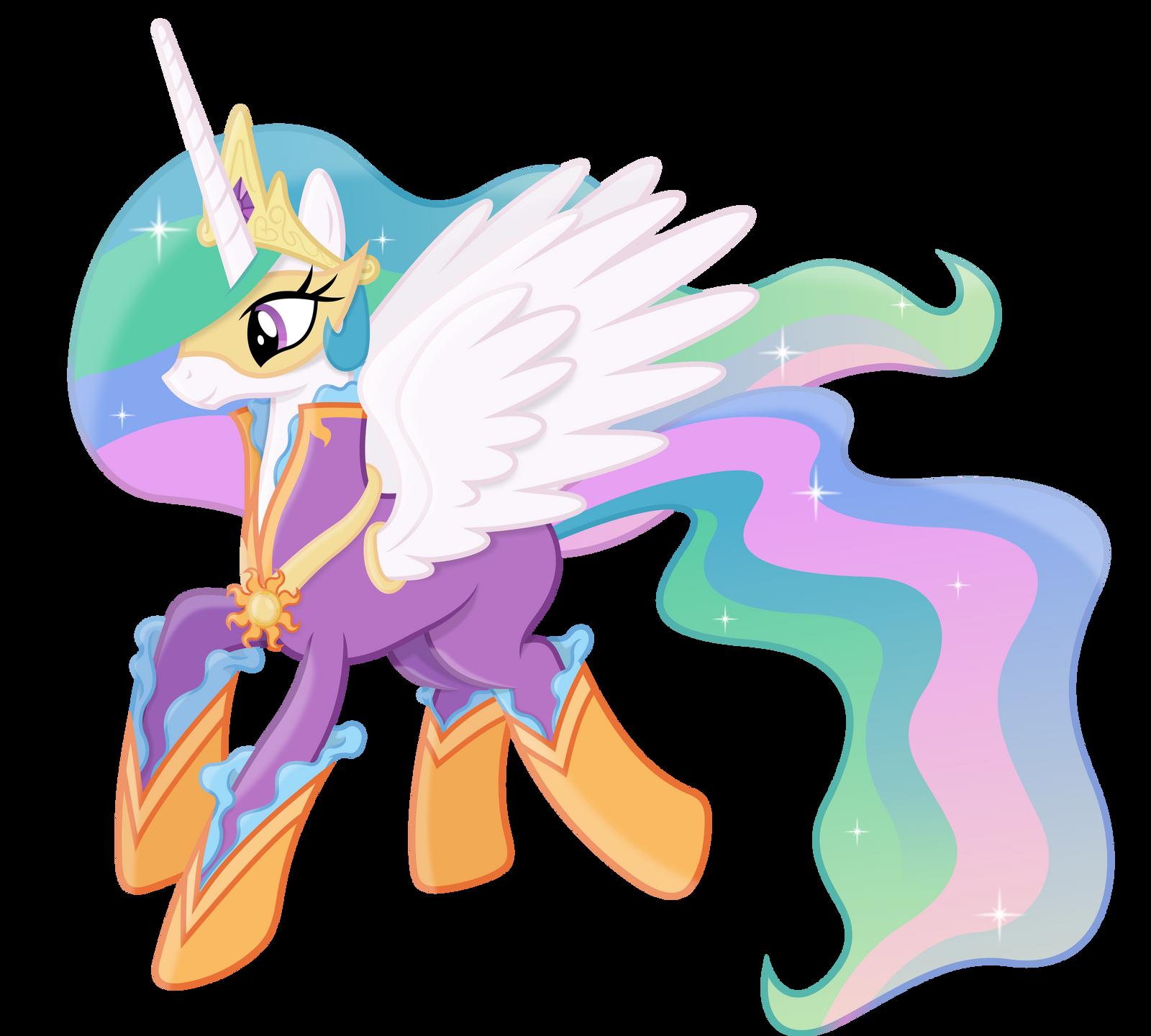 Princess Celestia As A Power Pony By 90Sigma On DeviantArt