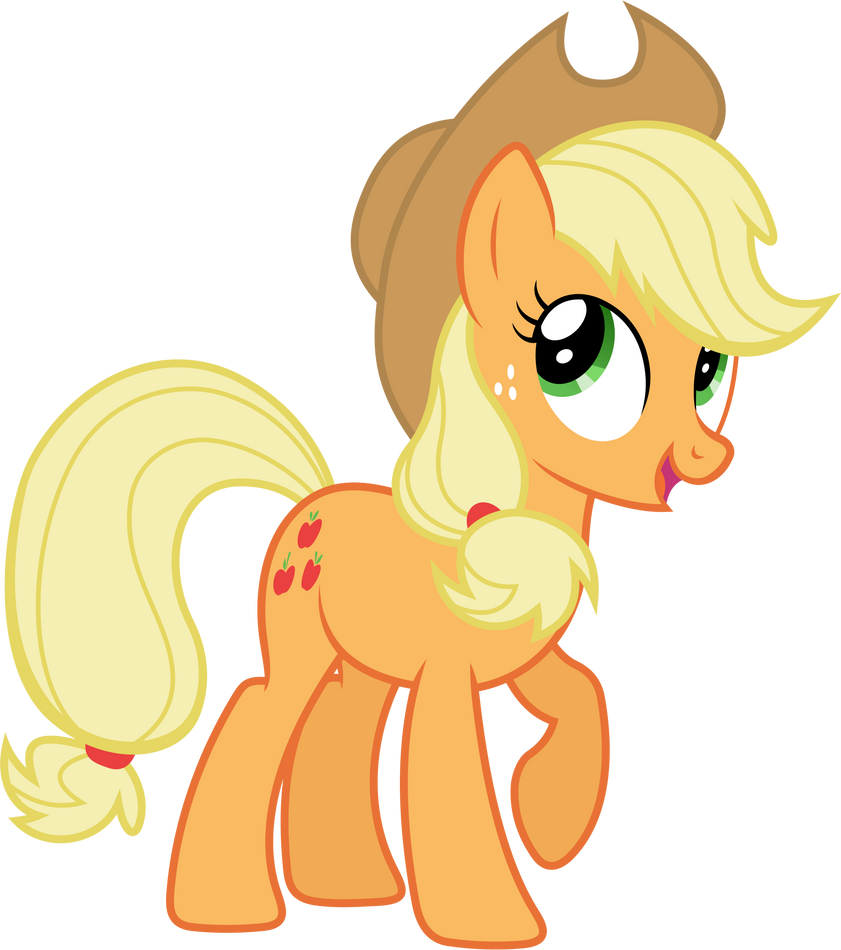 5594 applejack my little - photo #2