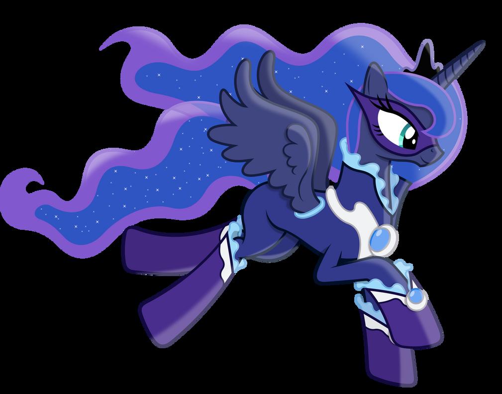 Princess luna as a power pony by 90sigma on deviantart - Princesse poney ...