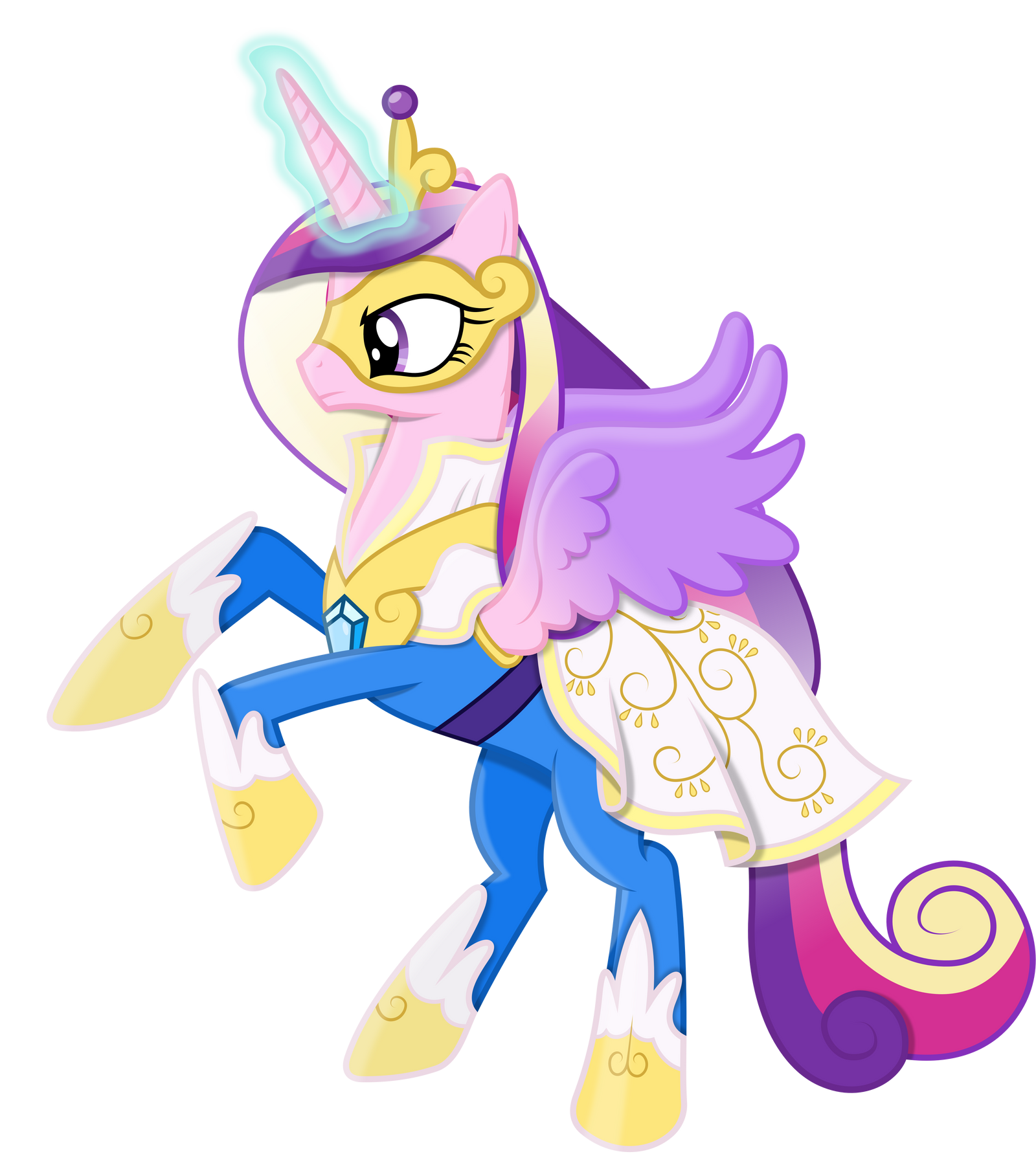 Princess Cadance As A Power Pony By 90Sigma On DeviantArt