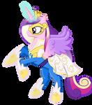 Princess Cadance as a Power Pony
