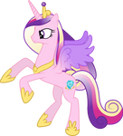 Princess Cadance Rearing Up