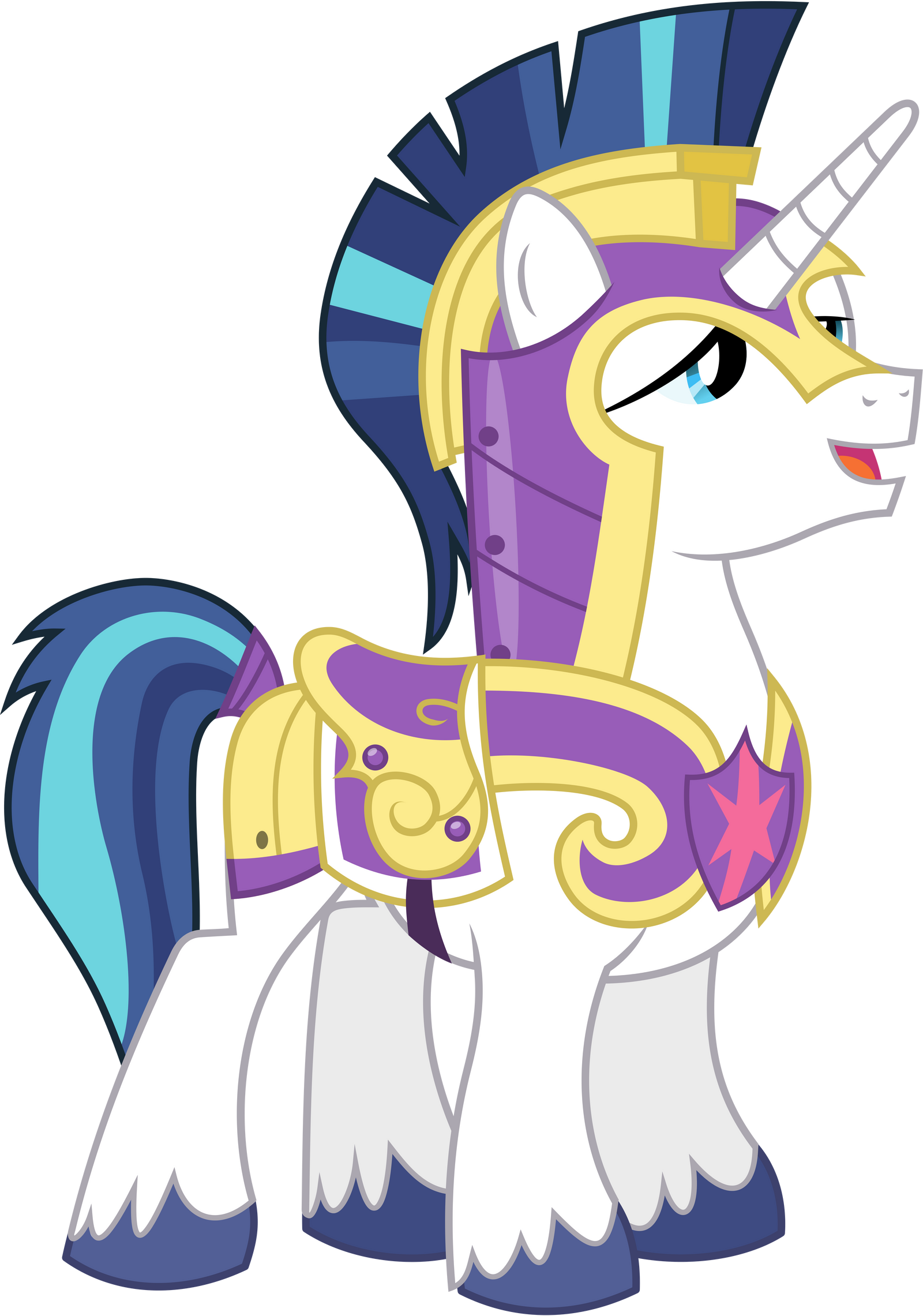 shining armour in guard s uniform 2 by 90sigma on deviantart
