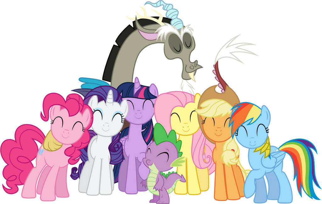 What Are The Six Main Elements Of Art : Friendship is magic by sigma on deviantart