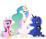 Cranky Princesses by 90Sigma