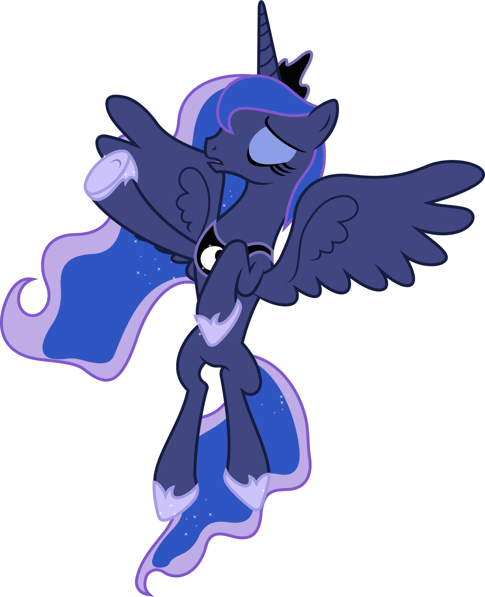 Princess Luna Flying 3 By 90sigma On Deviantart