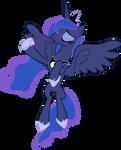 Princess Luna Flying (3)