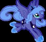 Princess Luna Flying (4)