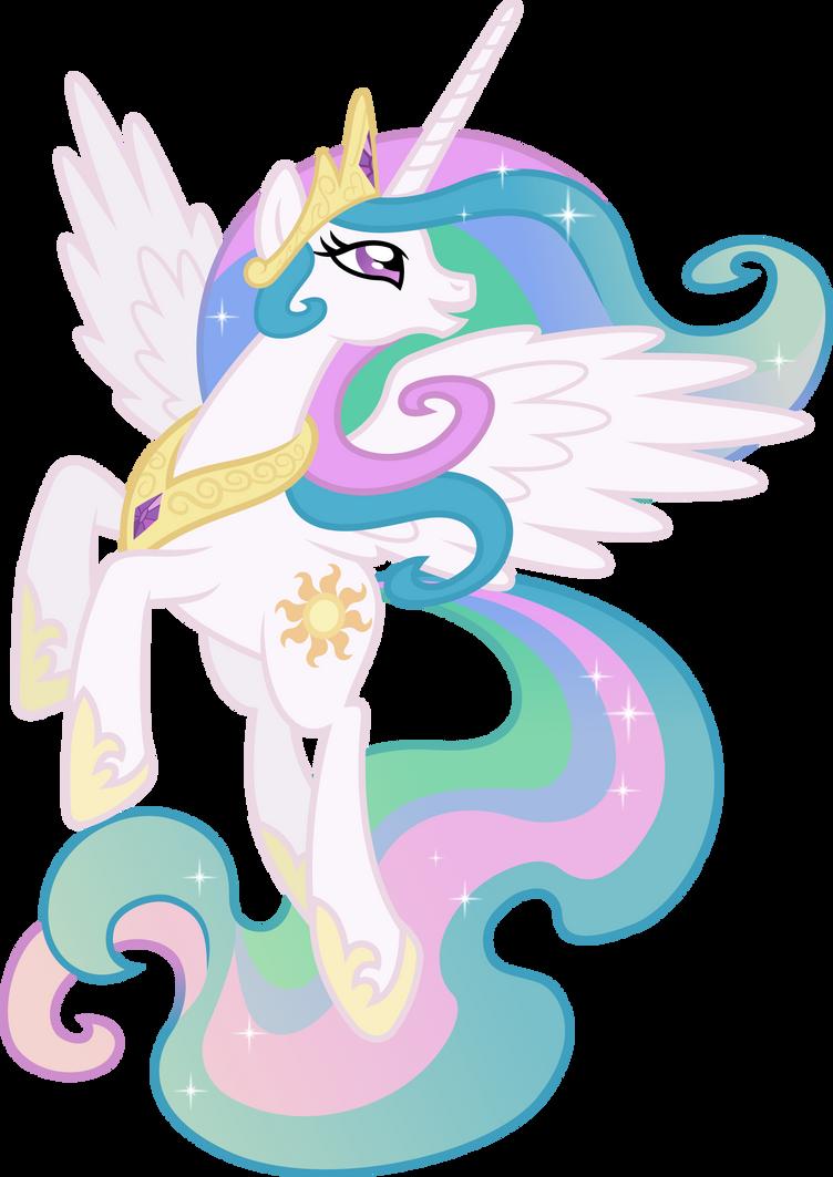 Princess Celestia Posing (2) by 90Sigma