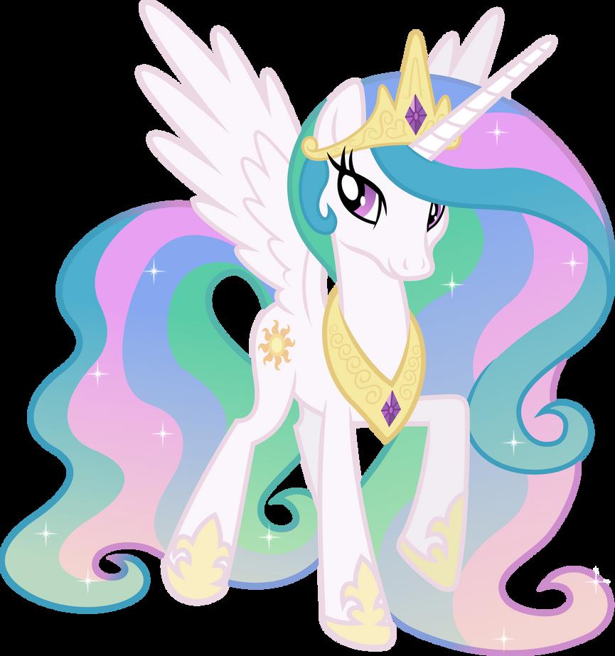 Happy Princess Celestia (3) by 90Sigma