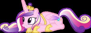 Prone Princess Cadance