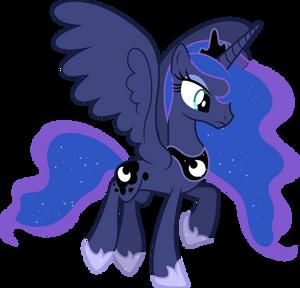 Princess Luna Flying (2)