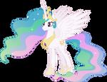 Princess Celestia Smiling