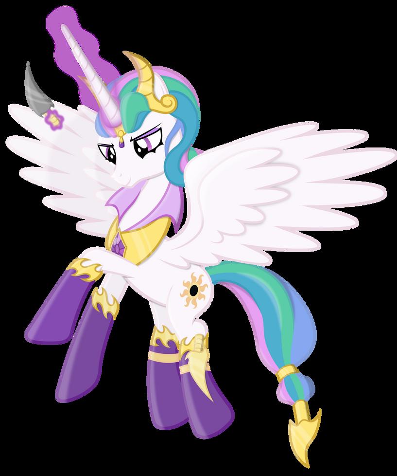 Evil Princess Celestia By 90Sigma On DeviantArt