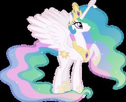 Happy Princess Celestia (5) by 90Sigma