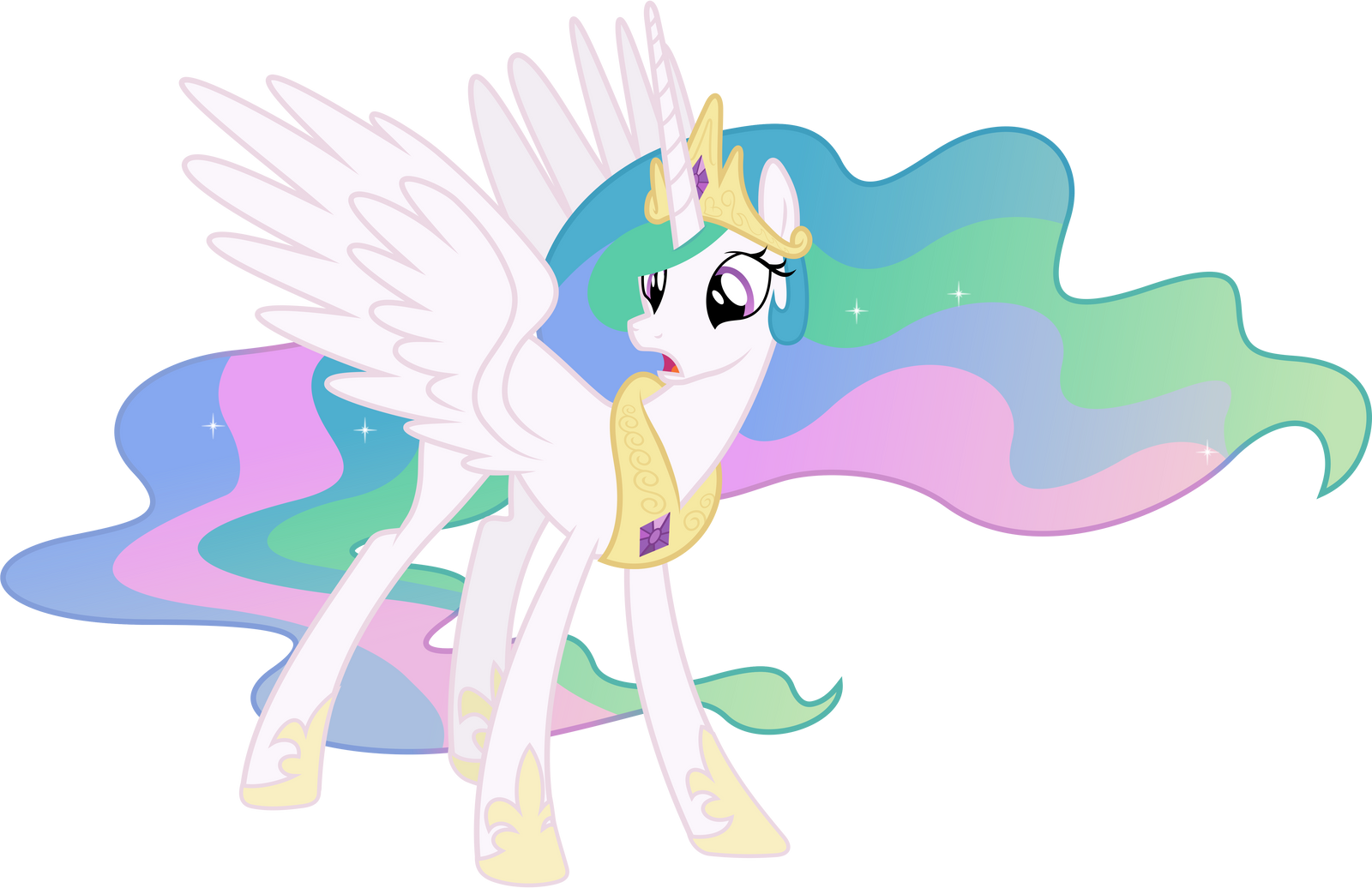 Surprised Princess Celestia by 90Sigma on DeviantArt