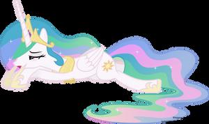 Sleepy Princess Celestia