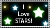 Stars Stamp by SpiritWolf517