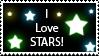 Stars Stamp by SpiritWolf517