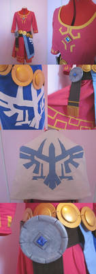 Skyward Sword Zelda Cosplay - Closeup