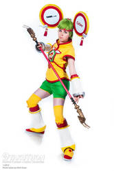 Dragon Kid Cosplay - Full View