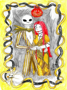 Jack and Sally in Gold