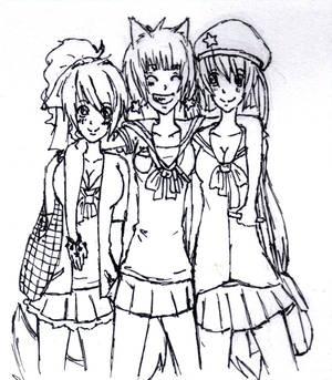 Delma, Arista and Wendy