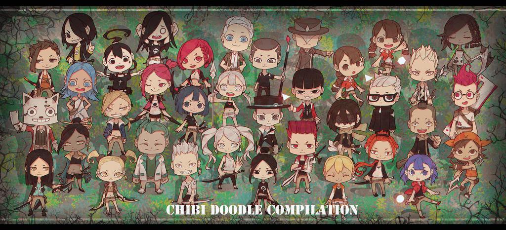 Chibi Doodle Compilation by Mo-des