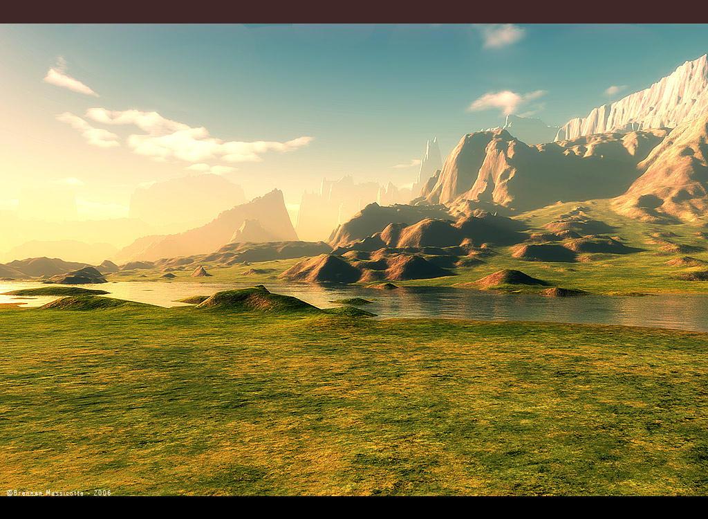 Terragen Terrain Contest by Exntrik