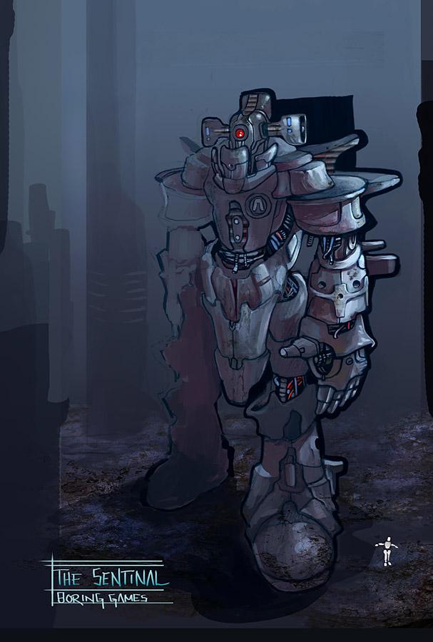 BLOOM- The Sentinel by Exntrik