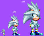 It's No Use! Silver the Hedgehog in Mania.