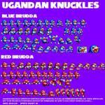 Ugandan Knuckles Mania Sprites