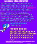 Sonic Forces Mania Sprites