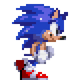 Godgen Sonic Walking Animation by Hortinus